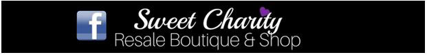 sweet charity resale boutique & shop logo